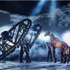 Rianna Ash, Alex Hooper, Mark Matthews, War Horse at the Wembley Troubadour Theatre photo credit Brinkhoff & Mogenburg