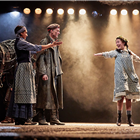 Natalie Kimmerling, Keiran Landa, Christopher Naylor  War Horse at the Wembley Troubadour Theatre photo credit Brinkhoff & Mogenburg