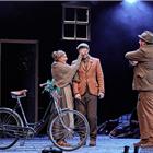 Jo Castleton, Scott Miller, Colin Conner,  War Horse at the Wembley Troubadour Theatre photo credit Brinkhoff & Mogenburg