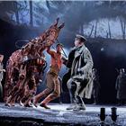 Jack SImpson, Tom Stacy, Domonic Ramsden, Andrew Keay,  War Horse at the Wembley Troubadour Theatre photo credit Brinkhoff & Mogenburg