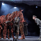 Christopher Naylor, Tom Stacy, Domonic Ramsden, Alex Keay,  War Horse at the Wembley Troubadour Theatre photo credit Brinkhoff & Mogenburg